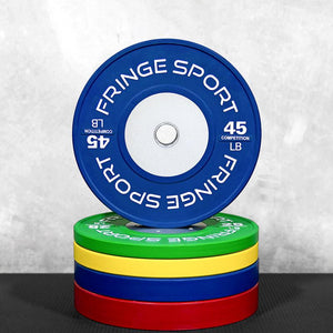 Fringe Sport Color Competition Bumper Plates
