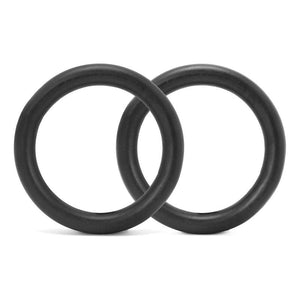 32mm Steel Gymnastic Rings - No Straps (209841717252)