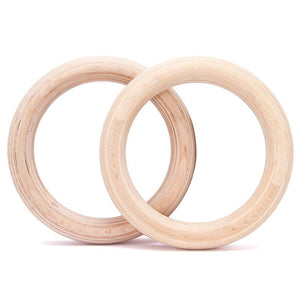 Competition Gymnastic Rings - No Straps