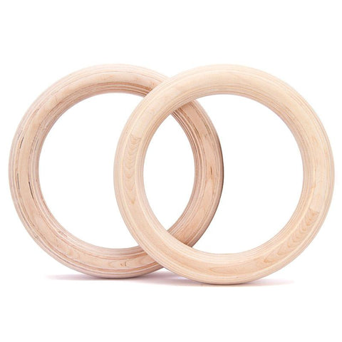 Competition Gymnastic Rings - No Straps (395752856)