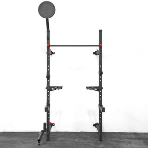 Power Rack with Wall Ball Target