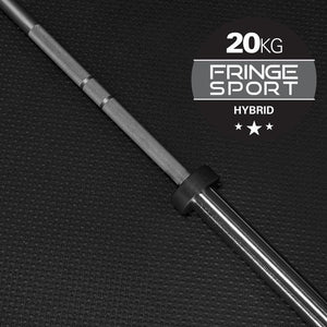 20kg Hybrid Barbell by Fringe Sport - Pre-Order: Expected Ship Date by 9/5
