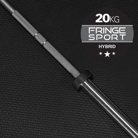 20kg Hybrid Barbell by Fringe Sport - Pre-Order: Expected Ship Date by 9/8 (11523788676)