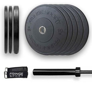 Bar + Milspec Bumper Plate Packages (4792658034735)