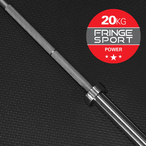 20kg Power Barbell by Fringe Sport