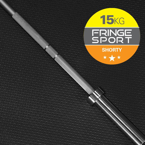 15kg Shorty Barbell by Fringe Sport (11525007300)