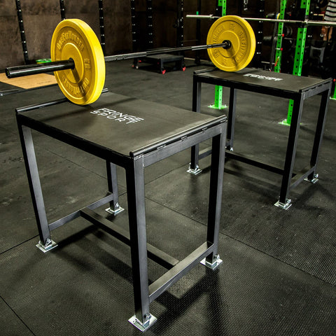 Steel Jerk Block Set