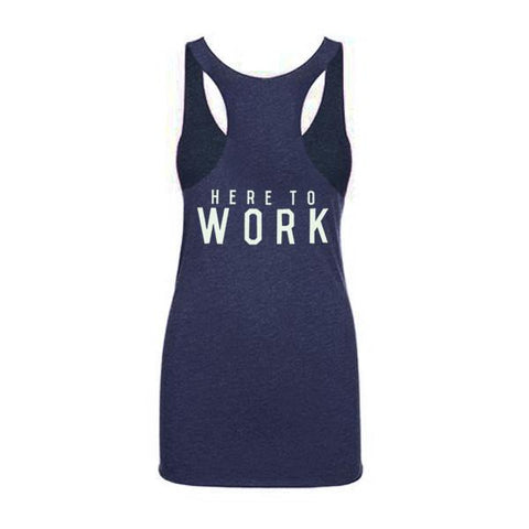 Here To Work Women's Tank