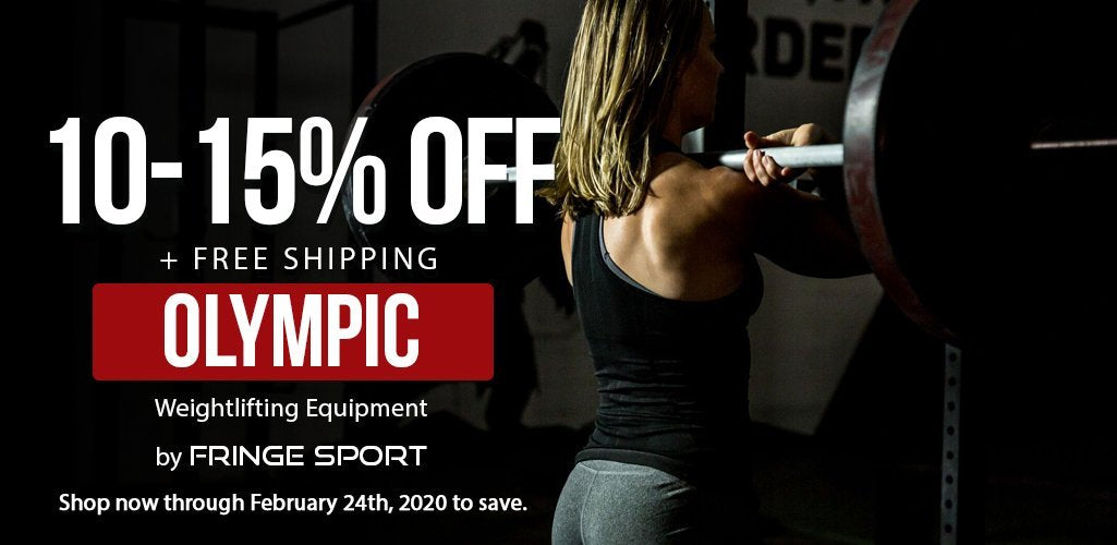 Save 10-15% Off Of Olympic Gear