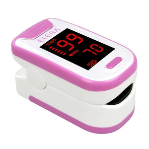 ELERA portable pulse oximeter with OLED/ ELERA pulsioximetro portatil SPO2 PR Digital con OLED