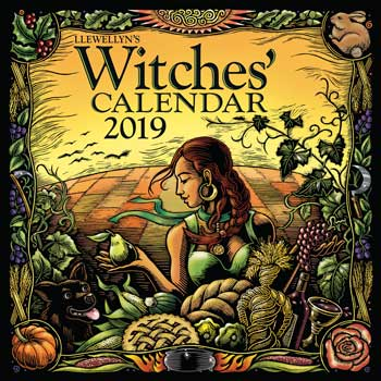 2019 Witches' Calendar by Llewellyn