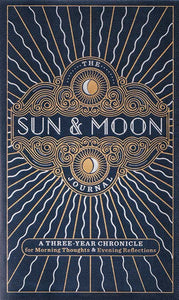 "4"" x 6"" 3 year Sun & Moon lined journal"