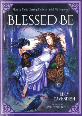 Blessed Be cards by Lucy Cavendish