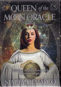 Queen of the Moon oracle by Stacey Demarco