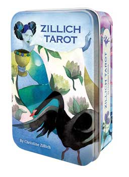 Zillich Tarot tin by Christine Zillich