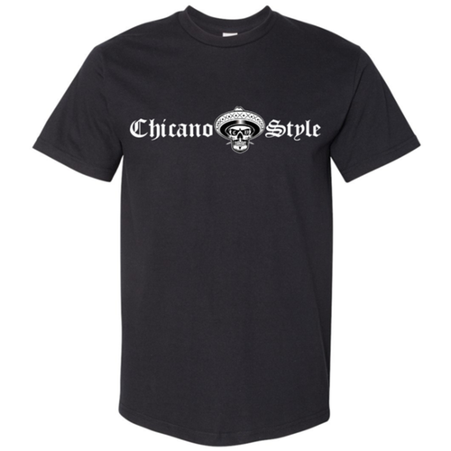 Chicano Style Classic Black T-Shirt Back