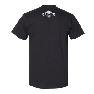 Chicano Style Classic II Black T-Shirt Back