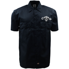 Load image into Gallery viewer, New Dickies Chicano Style Motorcycles Work Shirt Front