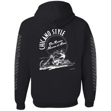 Load image into Gallery viewer, Chicano Style Dos Ruedas Limited Edition Black Pullover Hoodie Sweatshirt