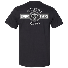 Load image into Gallery viewer, Chicano Style Motorcycles Black T-Shirt