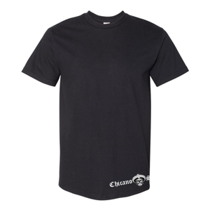Chicano Style Viclas Black T-Shirt Front