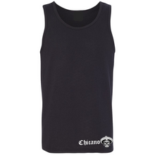 Load image into Gallery viewer, Chicano Style Viclas Men's Black Tank Top Front