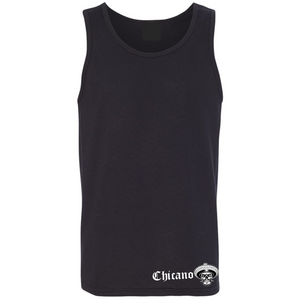 Chicano Style Viclas Men's Black Tank Top Front