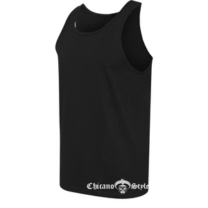 Chicano Style Viclas Men's Black Tank Top Side