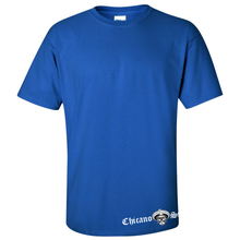 Load image into Gallery viewer, Chicano Style Motorcycles Blue T-Shirt