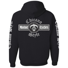 Load image into Gallery viewer, Chicano Style Motorcycles Full-Zip Hoodie Sweatshirt