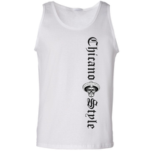 Load image into Gallery viewer, Chicano Style Motorcycles Men's White Tank Top Front