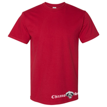 Load image into Gallery viewer, Chicano Style Motorcycles Red T-Shirt Front