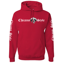 Load image into Gallery viewer, Chicano Style Motorcycles Hoodie Sweatshirt - Red