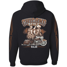 Load image into Gallery viewer, Chicano Style Viclas Caballeros Limited Edition FULL-ZIP Hoodie Sweatshirt