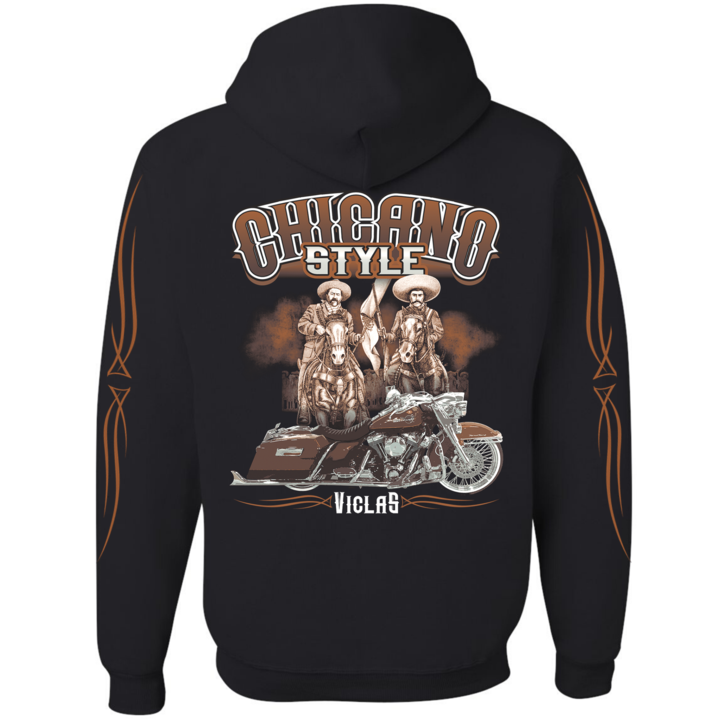 Chicano Style Viclas Caballeros Limited Edition FULL-ZIP Hoodie Sweatshirt
