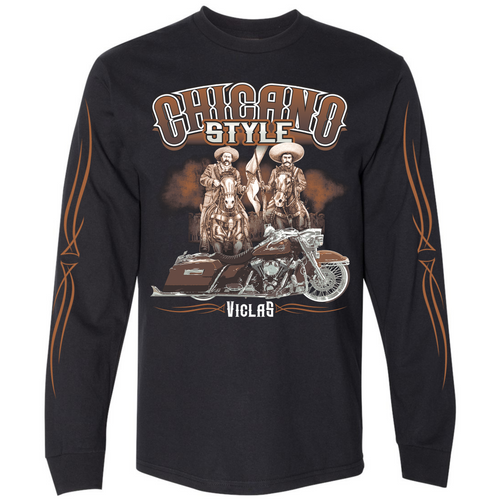 Chicano Style Viclas Limited Edition Caballeros Long Sleeve Tee
