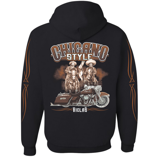 Chicano Style Viclas Limited Edition Pullover Hoodie Sweatshirt
