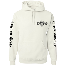 Load image into Gallery viewer, Chicano Style Viclas White Hoodie Pullover Sweatshirt Front
