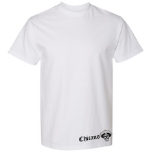 Load image into Gallery viewer, Chicano Style Viclas White T-Shirt Front