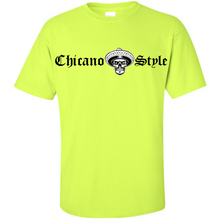 Load image into Gallery viewer, NEW Chicano Style Classic Hi-Visibility Safety Green T-Shirt