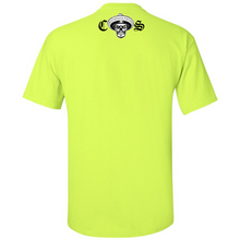 Load image into Gallery viewer, NEW Chicano Style Classic Hi-Visibility Safety Green T-Shirt back