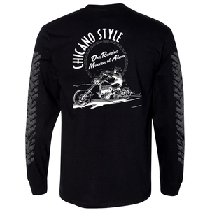 NEW Chicano Style Dos Ruedas Limited Edition Long Sleeve T-Shirt