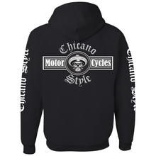 Load image into Gallery viewer, NEW Chicano Style Motorcycles Black Hoodie Sweatshirt
