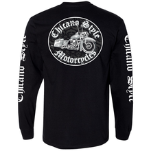 Load image into Gallery viewer, NEW Chicano Style Motorcycles Throwback Long Sleeve T-Shirt