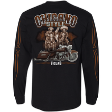 Load image into Gallery viewer, NEW Chicano Style Viclas Limited Edition Caballeros ON BACK Long Sleeve Tee