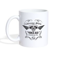 Load image into Gallery viewer, Chicano Style Viclas Coffee Mug - white