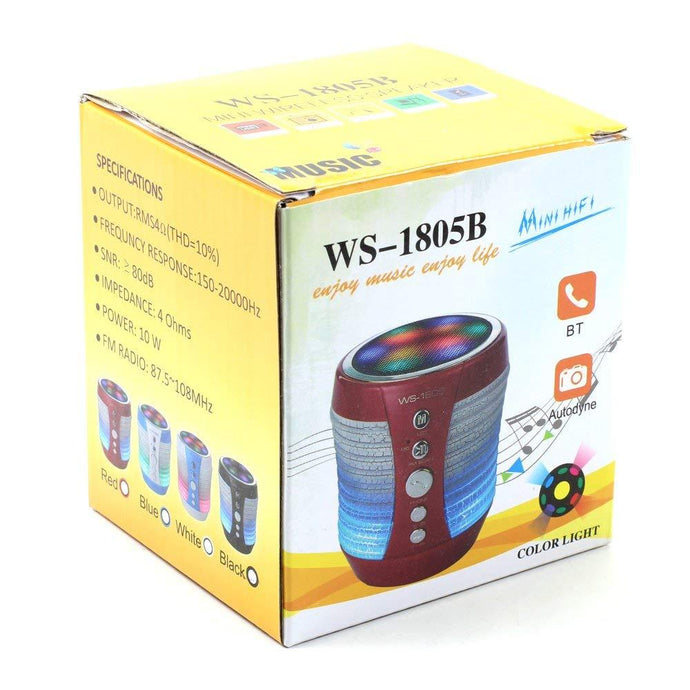 BLUETOOTH SPEAKER (WS-1805) - Jazba World - Headphones - Earbuds - Wirless - Bluetooth Headphones