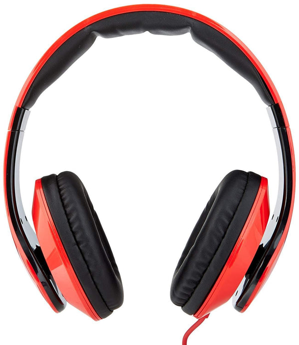Icon Q - Flare Headphones - Red & Black - QH30 - Jazba World - Headphones - Earbuds - Wirless - Bluetooth Headphones