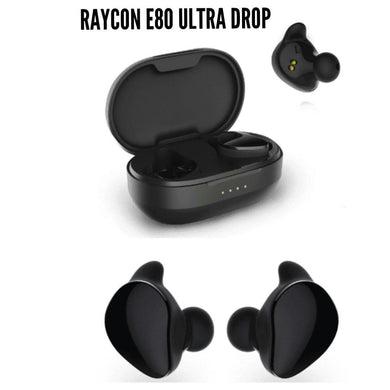 Raycon E80 Ultra Drop True Wireless in-Ear Bluetooth Headphones with Charging Case - Jazba World - Headphones - Earbuds - Wirless - Bluetooth Headphones
