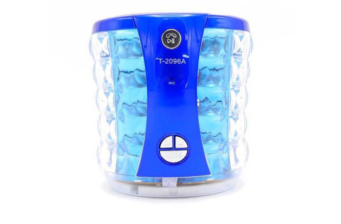 BLUETOOTH SPEAKER GLASS (T-2096A) - Jazba World - Headphones - Earbuds - Wirless - Bluetooth Headphones
